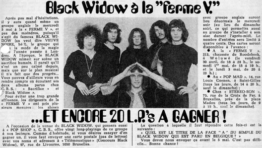 Black Widow Ferme V