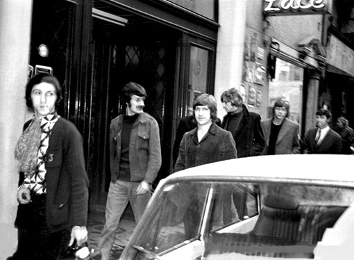 Moody Blues Bruxelles 1968